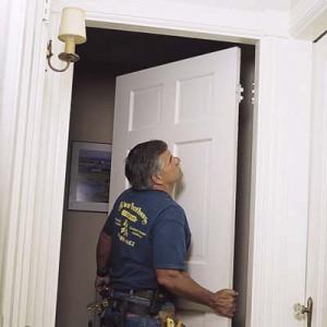 Как произвести установку межкомнатной двери?